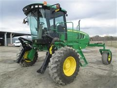 2013 John Deere W110 2WD Self-Propelled Windrower