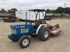 1988 Ford 1320 Utility Tractor W/Bush Hog Mower