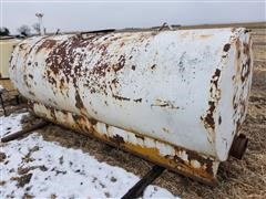1000 Gallon Steel Water Tank