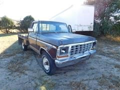 1979 Ford F250 Ranger Flatbed Pickup
