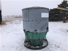 Big Wheel Hog Feeder