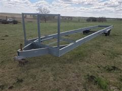 41' Homemade T/A Galvanized Trailer