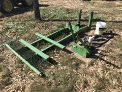 Gary Johnson-Built Front Mount For Fertilizer Tank