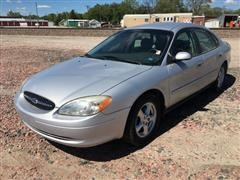 2002 Ford Taurus SES 4 Door Sedan