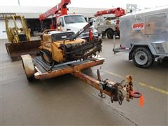 1983 Ditch Witch S4A Flatbed Trailer