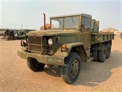 1969 Kaiser M756A2 T/A Military Flatbed Truck