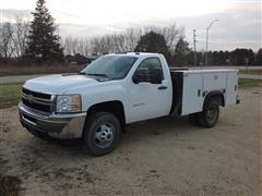 2011 Chevrolet 3500 Service Truck