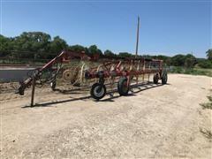 H&S BF14HC 16-Wheel Twin Hay Rake