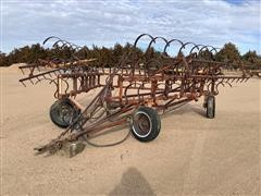 CrustBuster 36' Spring-Tooth Cultivator W/Spike Harrow