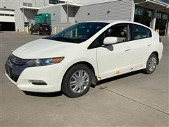 2011 Honda Insight 4-Door Hybrid Passenger Car W/Hatchback
