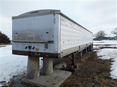 1981 American A742 Convertible Hopper 42' Grain Trailer