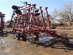 Case IH 4300 32' Field Cultivator W/3 Bar Harrow
