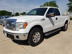 2014 Ford F150 4x4 4 Door Extended Cab Pickup