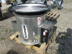 "2014 Brock AX28-1512-WC 28"" Axial Grain Bin Fan"