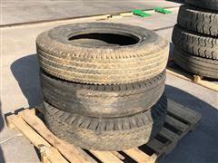 Goodyear 8.25-10 Tires & Rim