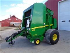 2012 John Deere 568 Mega Wide Plus Silage Special 5x6 Baler