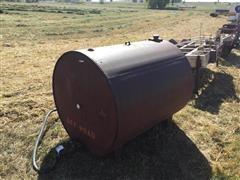 Gravity Fed Dyed Diesel Tank