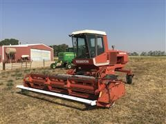 Hesston 6550 Swather