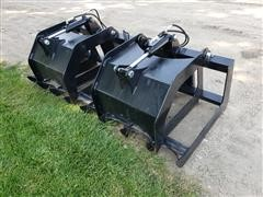 "2019 Brute 70"" Brush Grapple Skid Steer Attachment"