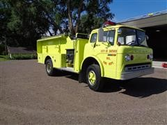 1978 Ford C800 Fire Truck