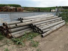 "9"" Ames & 8"" Bengar Aluminum Irrigation Pipe"