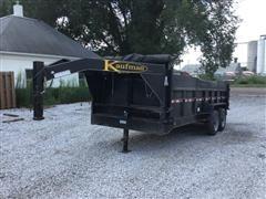 2015 Kaufman XSLPG T/A Dump Trailer