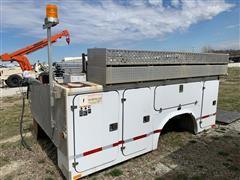 2013 FIBRE BODY Service/Utility Truck Bed