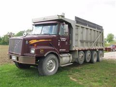 2000 Volvo WG64 Quad/A Dump Truck