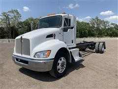 2014 Kenworth T270 S/A Cab & Chassis