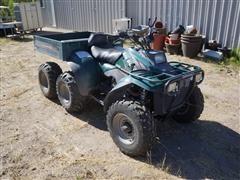 1998 Polaris 6X6 Big Boss 500 ATV W/Dump Bed