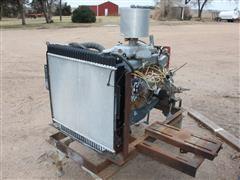 Ford 6 Cylinder Irrigation Engine