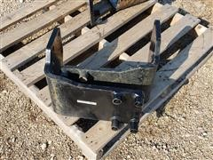 L730 Loader Tractor Rear Mounting Brackets