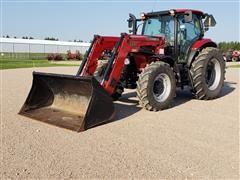 2014 Case IH Maxxum 125 MFWD Tractor