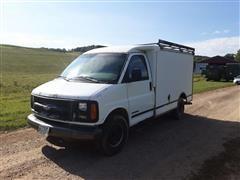 1999 Chevrolet 3500 Cargo Box Van