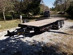 2018 Kaufman 20' T/A Full Tilt Bed Trailer