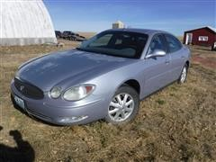 2005 Buick Lacrosse 4 Door Sedan