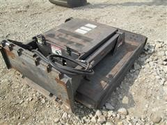FFC Skid Loader Mount Rotary Mower