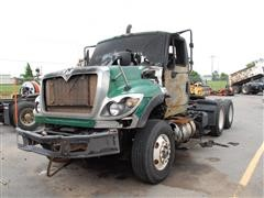 2008 International 7600 T/A Truck Tractor For Parts