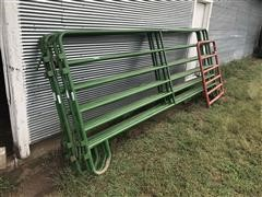 "HW Brand 12' Panels & 40"" Gate"