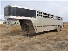 2009 Travalong Tri/A Livestock Trailer