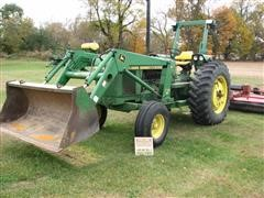 1979 John Deere 2840 Tractor With 720 Loader