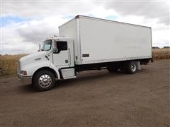 2001 Kenworth T300 S/A Box Truck W/Marion 24X97X102 Cargo Box