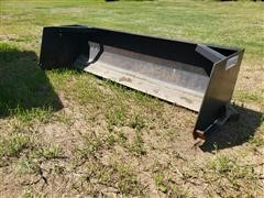 Wemhoff 8' Wide Snow Pusher Skid Steer Attachment