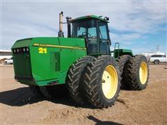 1996 John Deere 8770 4WD Tractor