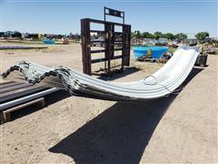 Curved Exterior Sheeting/Windbreak Panels