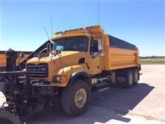 2006 Mack Granite CV713 T/A Dump Truck