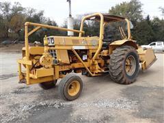 1974 International 1066 Tractor W/Tiller