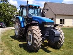 2002 New Holland TM165 MFWD Tractor