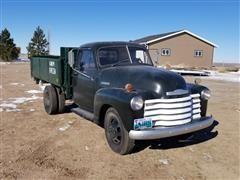 1951 Chevrolet 3800 DRW 1 Ton Beet Truck