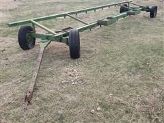 Shop Built 25' Header Trailer